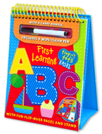 Tiny Tots Easel First Learning ABC Wipe Clean (includes a wipe-clean pen)