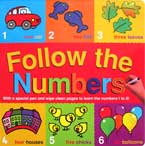 Follow the Numbers Wipe Clean Board Book (with a special pen and wipe clean pages to learn the numbers 1 to 10)