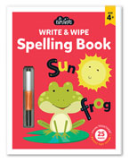 Junior Explorers Write & Wipe Spelling Book (Age 4+)