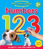 Wipe Clean Learning Numbers 123 - Includes a Free Pen!