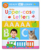 Ready Set Learn WRITE UPPERCASE LETTERS Wipe Clean Book
