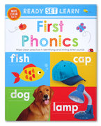 Ready Set Learn FIRST PHONICS Wipe Clean Book