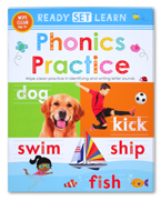 Ready Set Learn PHONICS PRACTICE Wipe Clean Book