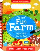 My First Fun Farm Wipe-Clean Activity Book (Write, Learn, Wipe, Play)